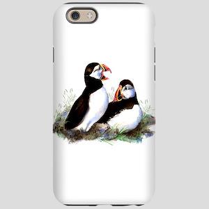 Watercolor Puffin Bird Natu iPhone 6/6s Tough Case
