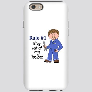 STAY OUT OF MY TOOLBOX iPhone 6 Tough Case
