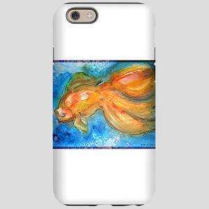 Goldfish, fun art! iPhone 6 Tough Case