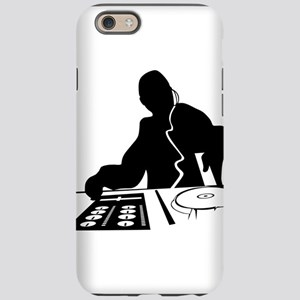 Dj Mixing Turntables Club Musi iPhone 6 Tough Case