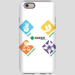 Green Party 4 Pillars iPhone 6/6s Tough Case
