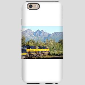 Alaska Railroad locomotive iPhone 6/6s Tough Case