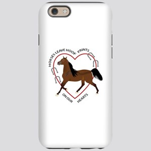 HOOF PRINTS ON OUR HEARTS iPhone 6 Tough Case