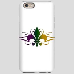 fleur-de-lis-swirls_color iPhone 6 Tough Case