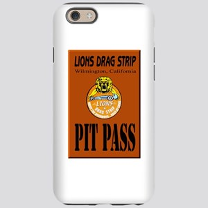 Lions Drag Strip Pit Pass iPhone 6 Tough Case