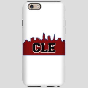 CLE Maroon/Black iPhone 6 Tough Case