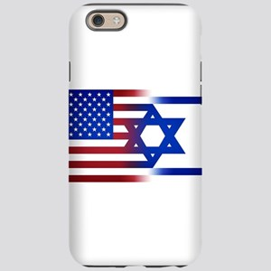 America stands with Israel iPhone 6 Tough Case