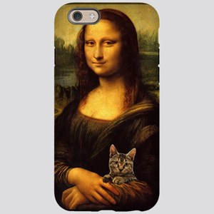 Monalisa with cat iPhone 6 Tough Case