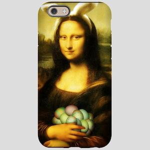 Mona Lisa, The Easter Bunny iPhone 6 Tough Case