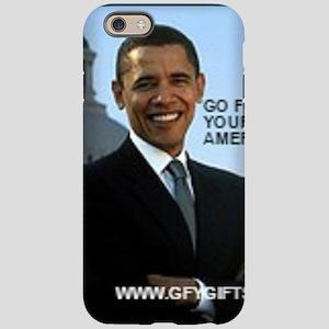 Barack Hussein Obama GFY iPhone 6 Tough Case