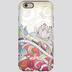 Abstract Floral iPhone 6 Tough Case