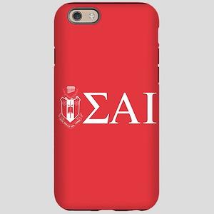Sigma Alpha Iota Letters Cr iPhone 6/6s Tough Case
