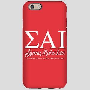 Sigma Alpha Iota Letters iPhone 6/6s Tough Case