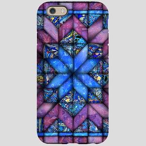 Purple Quilt iPhone 6 Tough Case