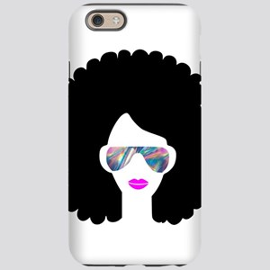 hologram afro girl iPhone 6/6s Tough Case