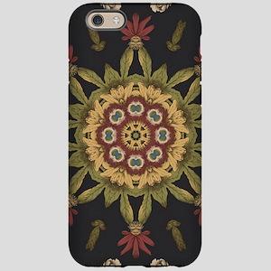 hipster vintage floral mandala iPhone 6 Tough Case