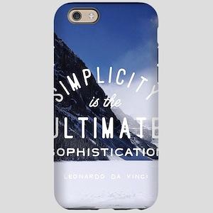 hipster mountain simplicity ty iPhone 6 Tough Case