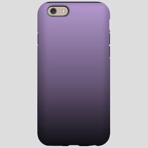 black purple ombre iPhone 6 Tough Case