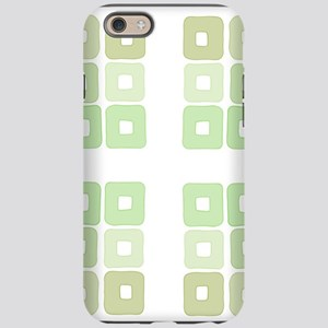 Greenery Squared and Green iPhone 6/6s Tough Case