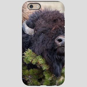 Christmas Bison iPhone 6 Tough Case