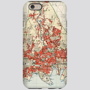 Vintage Map of Oslo Norway iPhone 6/6s Tough Case