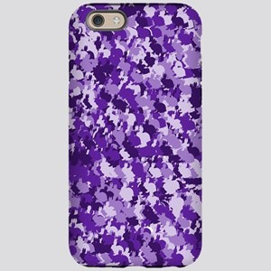 Purple Bunnyflage iPhone 6 Tough Case