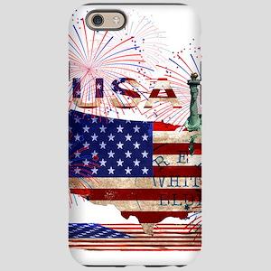 USA FIREWORKS STARS STRIPES iPhone 6/6s Tough Case