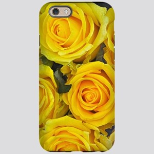 Beautiful yellow roses iPhone 6/6s Tough Case