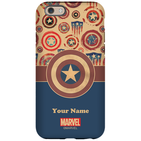 Captain America Personalized