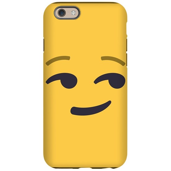 Smirk Emoji Face Iphone 6 6s Tough Case By Joypixels Cafepress