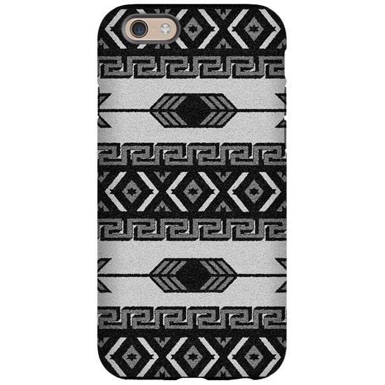 Black And White Aztec Pattern