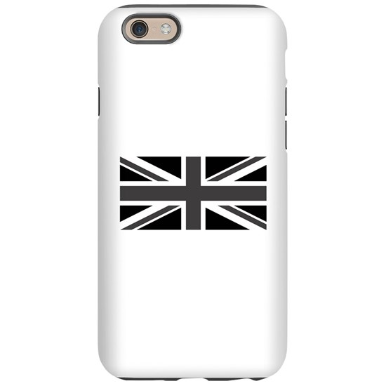 Union Jack - Black and White