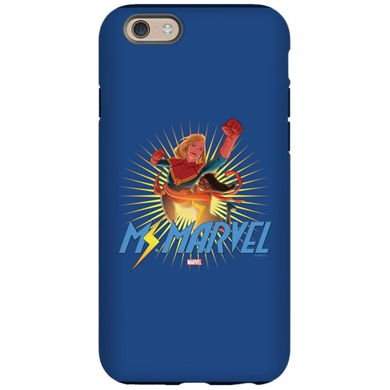 more photos a6e04 915a0 Ms. Marvel & Captain Marvel iPhone 6 Tough Case