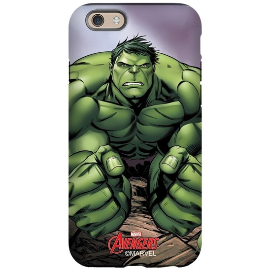 save off f3fa7 cad7c avengers assemble hulk flex iPhone 6 Tough Case