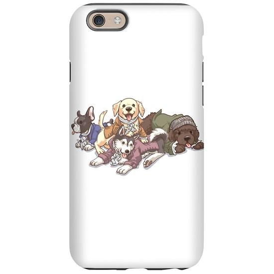 promo code 9040d f1e05 Hamilton Musical x Dogs iPhone 6/6s Tough Case