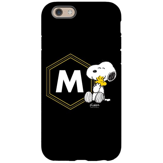 Snoopy Woodstock Monogrammed Phone Case
