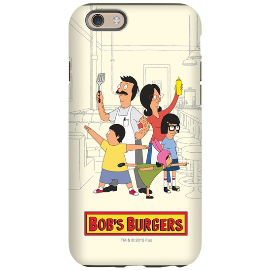 Bob's Burger Hero Family