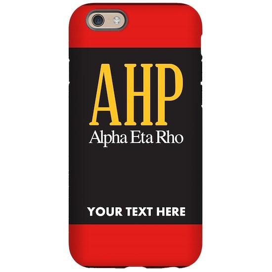 Alpha Eta Rho Personalized Phone Case