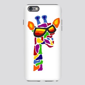 Giraffe in Sunglasses iPhone Plus 6 Tough Case