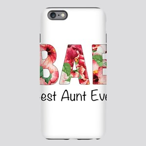 BAE Best Aunt Ever Flower Pattern iPhone 6 Plus/6s