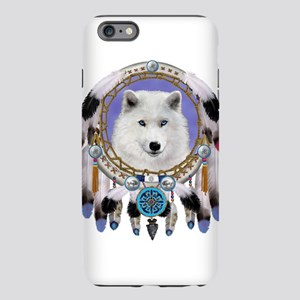 Native American Wolf Spirit iPhone Plus 6 Tough Ca