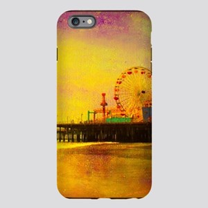 Yellow Santa Monica Pier iPhone Plus 6 Tough Case