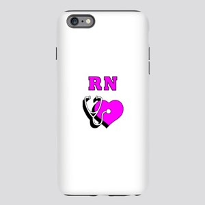 RN Nurses Care iPhone Plus 6 Tough Case