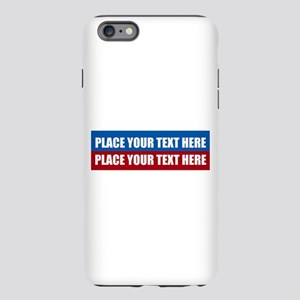 America Text Mes iPhone 6 Plus/6s Plus Tough Case
