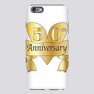 50th Anniversary Heart iPhone Plus 6 Tough Case