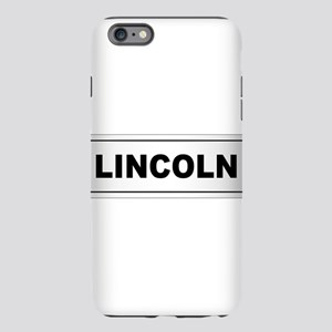 Lincoln City Name iPhone 6 Plus/6s Plus Tough Case