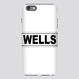 Wells City Namepl iPhone 6 Plus/6s Plus Tough Case