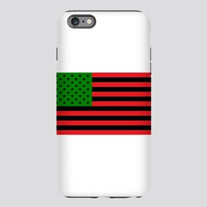 African American Flag - R iPhone Plus 6 Tough Case