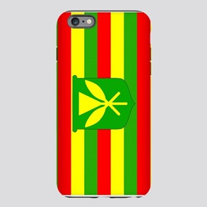 Kanaka Maoli Flag iPhone Plus 6 Tough Case