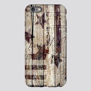 barn wood rustic American iPhone Plus 6 Tough Case